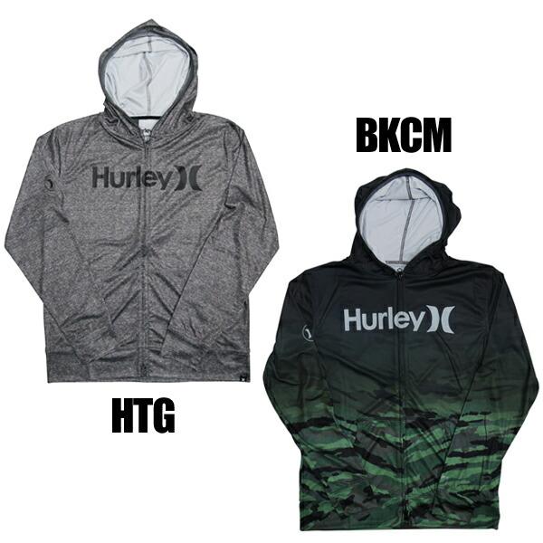 Hurleyハーレーサーフィンウェットスーツラッシュガード紫外線対策16sp●RASHFULLZIPOPENHOODO&OMKHZLY56