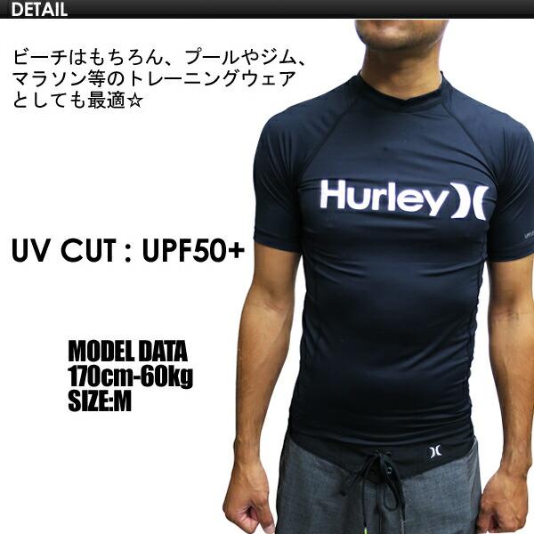 Hurleyハーレーサーフィンウェットスーツラッシュガード半袖16ss●ONE&ONLYSSRASHGUARDMZRSSO16
