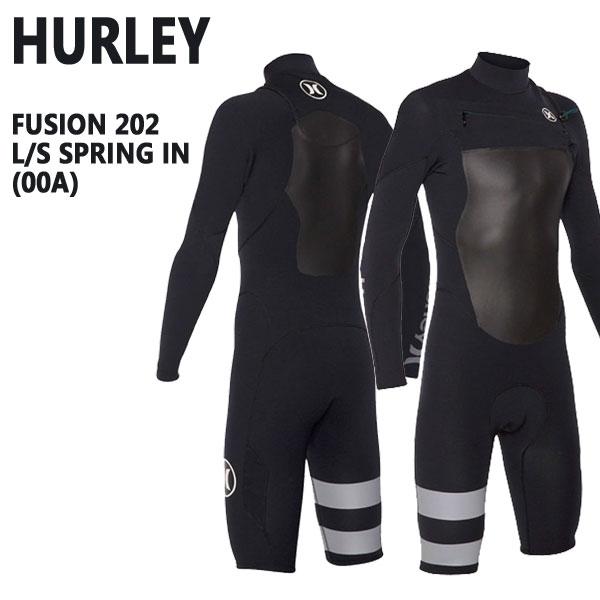 HURLEY/ハーレーFUSION202L/SSPRING00Aノンジップスプリングウェットスーツサーフィン送料無料男性用