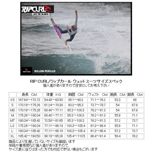 RIPCURL/リップカールDAWNPATROLBACKZIP3/2mmフルスーツウェットスーツFATGBタイプ【送料無料】サーフィン用男性用