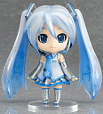 PVC figure nendoroid hatsune miku nendoroid snow miku (vocaloid) 2009 winter limited edition ' character vocal series 01 hatsune miku ' No.97