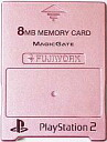 FUJIWORK metallic pink PS2 hard-PlayStation2 MEMORY CARD (8 MB)