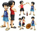 Figure Luffy & ACE-brotherly bond-Portrait.Of.Pirates one piece CB-EX