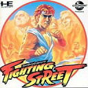 PC engine CD software fighting street