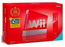 Wii hard Wii console red Super Mario 25th anniversary specifications