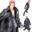 "Portrait.Of.Pirates one piece PVC figure-red hair Shanks 'one piece' ""STRONG EDITION"""