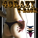 "Up to フロントシームレス type ☆ I T-back ""4 CRAZY-Tback' 10."