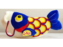 Is a plush ride and play streamers. Renewal! Come play Blue Blue M size q rag streamer Streamers toy Toys Stuffed stuffed carp stuffed fishes stuffed fish stuffed carp playing carp play blue?