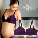 CacheCoeur France imported マタニティランジェリー 3D lights re-issue guitars seamless 3D breast feeding bra violet? s breastfeeding clothes / birth preparation / larger size feeding bra / bra / inner underwear.""