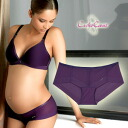 CacheCoeur France imported マタニティランジェリー 3 D series shorts violet? s maternity and childbirth preparation / shorts / underwear / lingerie.""