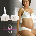 CacheCoeur France imported マタニティランジェリー リサシリーズ Wire feeding bra Pearl s breastfeeding clothes / birth preparation and breastfeeding Bras / large size nursing bra / bra / inner underwear.""
