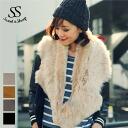 シュラッグムートンラムスキンファーレディース Sweet & Sheep select ◆ ラムスキンシュラッグ S