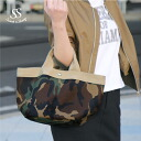 Bag camouflage Shin pull Lady's Sweet & Sheep select ◆ camouflage pattern tote bag