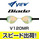 V120MR Tabata MJ View Blade blade ノンクッション mirror goggles swimming goggles swim goggles swim swimming for LGOR fs3gm