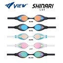 V131MR Tabata MJ View Shinari and mirror goggles with cushioned swimming goggles swim goggles swim swimming for fs3gm