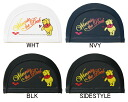 DISX-5310 arena arena disney Disney Winnie Pooh's swimming Cap Swim Cap 2-WAY Silicon Cap fitness swimwear for swimming