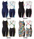 Arrival at exercise swimsuit swimming race swimsuit タフスキンミニーハーフパッツハーフスーツ exercise water for DIS-4302W arena arena disney disney ToughSuit tough suit Lady's women