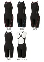 FSA-3604 W arena arena ToughSuit タフスーツ women's Dancewear practice swimwear swimming swimsuit tough skins half spats ハーフスーツ practice for swimwear fs3gm