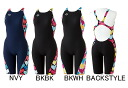 Arrival at exercise swimsuit swimming race swimsuit tough skin half spats half suit exercise water for FSA -4607W arena arena ToughSuit tough suit Lady's women
