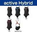 Junior 130・140 size! SD32B05 speedo speed for swimming Fastskin-XT active Hybrid swimming エイムカット suit swimwear junior women's children's swimwear fs3gm