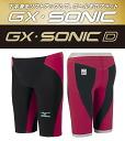 New colors in stock! N2JB400196 mizuno Mizuno GX-SONIC D men's men's swimming swimsuit half spats fast swimsuits racing swimsuit Hagi field Park, players wear