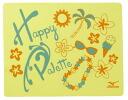 N2JY4580 mizuno ミズノセームタオル Happy Palette happy palette swimming towel swimming towel swimming swimming race