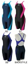 85OP-357 mizuno Mizuno ExerSuits exe suits Womens women's practice for swimwear swimming swimsuit half Spatz ハーフスーツ practice swimwear racing swimsuit