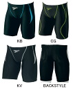 Junior 120_130 size only! SD60C53F speedo speed FLEX Σ Flex Sigma junior men's children's swimming swimsuit half spats racing swimsuit sale, cheap sale!