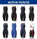 SD42H05 speedo speed Fastskin-XT active Hybrid women's women's swimming swimwear women's short John racing swimsuit fs3gm