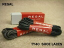 ■ ■ REGAL TY40 SHOE LACES dress brogue 81 cm / Regal sures concolor Biped minutes (four total) with Black Brown / fs2gm