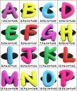 ■■ Accessories alphabet / シュードゥードゥルズアクセサリーホーリーソールズクロックスシューチャームジビッツ jibbitz // for Shoe-Doodles rubber clog