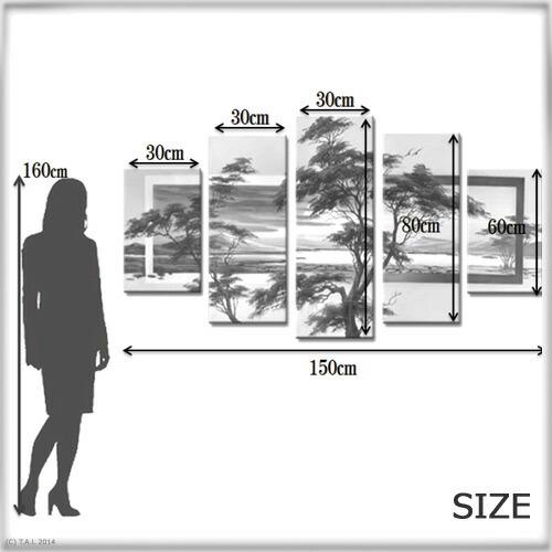 客厅墙上显示组织结构图
