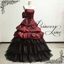 Back lace-up dress ★ gown ★ No. 7-No. 9 (red * black) 30072 sb