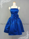 ♪ party dress ★ shortstop length ★( blue) wedding ceremony * size designation *tb51388 with the size order ribbon