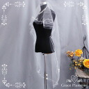 Wedding veil (off-white) short veil Wedding Veil Maria veil wedding ceremony second party foreign countries wedding (VE2378)