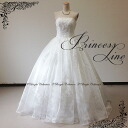 Lovely embroidered prom dress ball gown elegant! No. 7-No. 9-No. 11-13-at no. 15 (off-white) wedding wedding reception parties wedding wedding dress evening dress ★ 51132