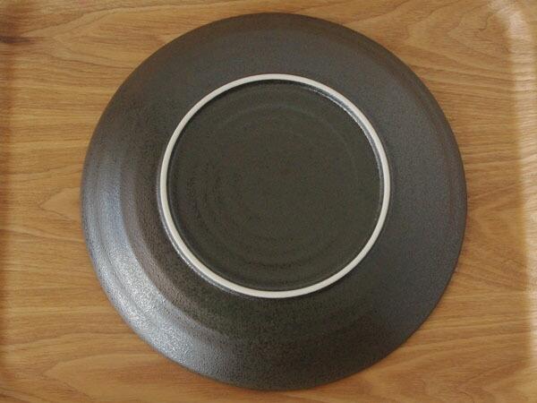 乐天海外销售 黑水晶 8 寸 盘子 日本仪器