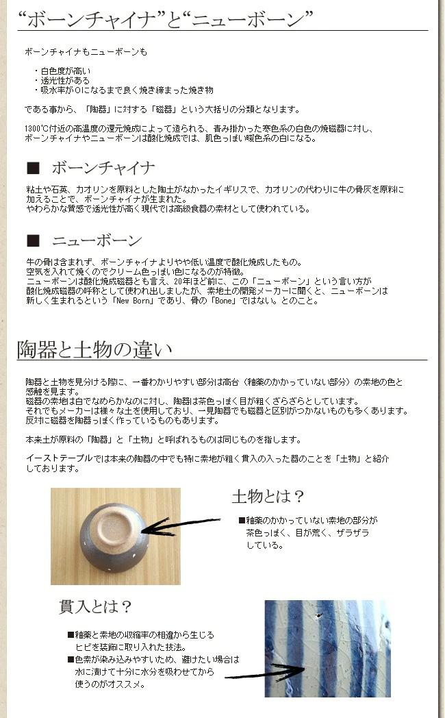 陶器について