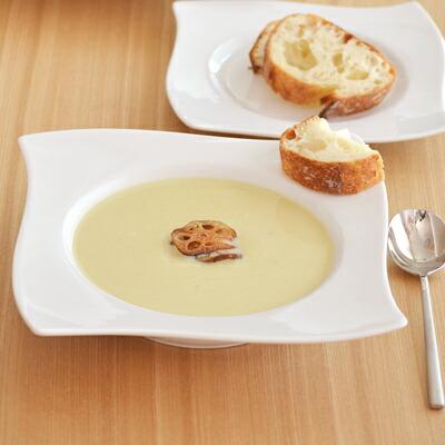 白い食器 楕円 プレート 取り皿 アウトレット 在庫限り