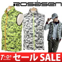 ロサーセン / ロサーセン / best down vest original camouflage pattern logo case design /Rosasen ロサーセンゴルフウェア