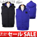 Lacoste / lacoste / best Japanese regular article down vest food LACOSTE lacoste golf wear fs3gm to be able to remove belonging to
