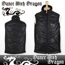 Dance with dragon / dance with dragon /DWD/ double zip best fake suede DANCE WITH DRAGON dance with dragon / golf wear fs3gm