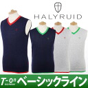 Aesthetics HALYRUID ハリールイドゴルフウェア of the ハリールイド / ハリールイド / best knit best V neck knit best refined SEXY man