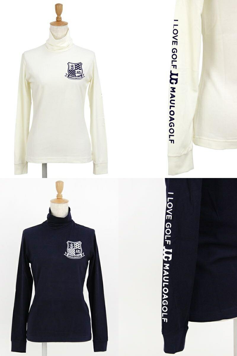 マウロアゴルフの長袖ハイネックシャツ