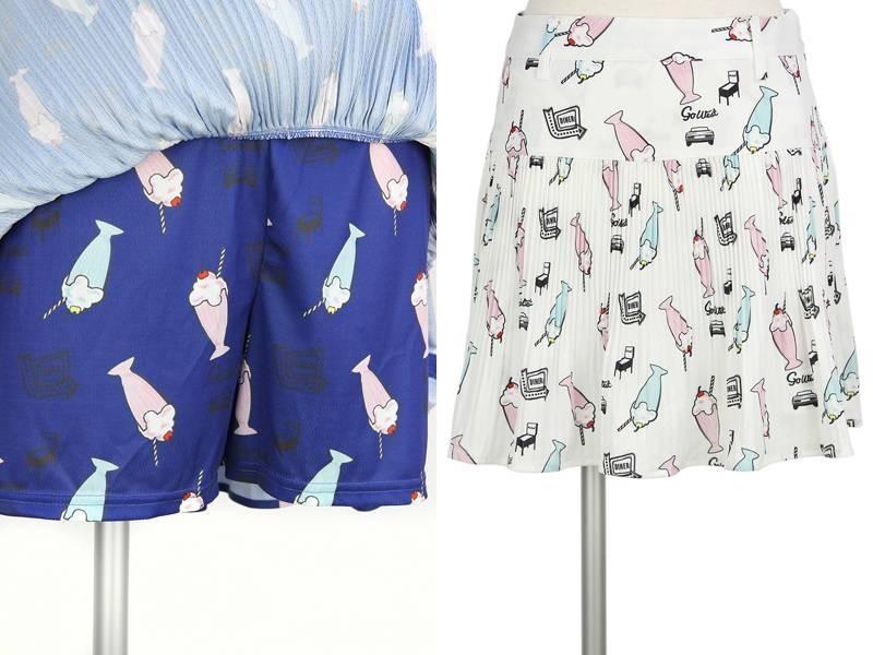 キャロウェイアパレル/キャロウェイゴルフのプリーツスカート