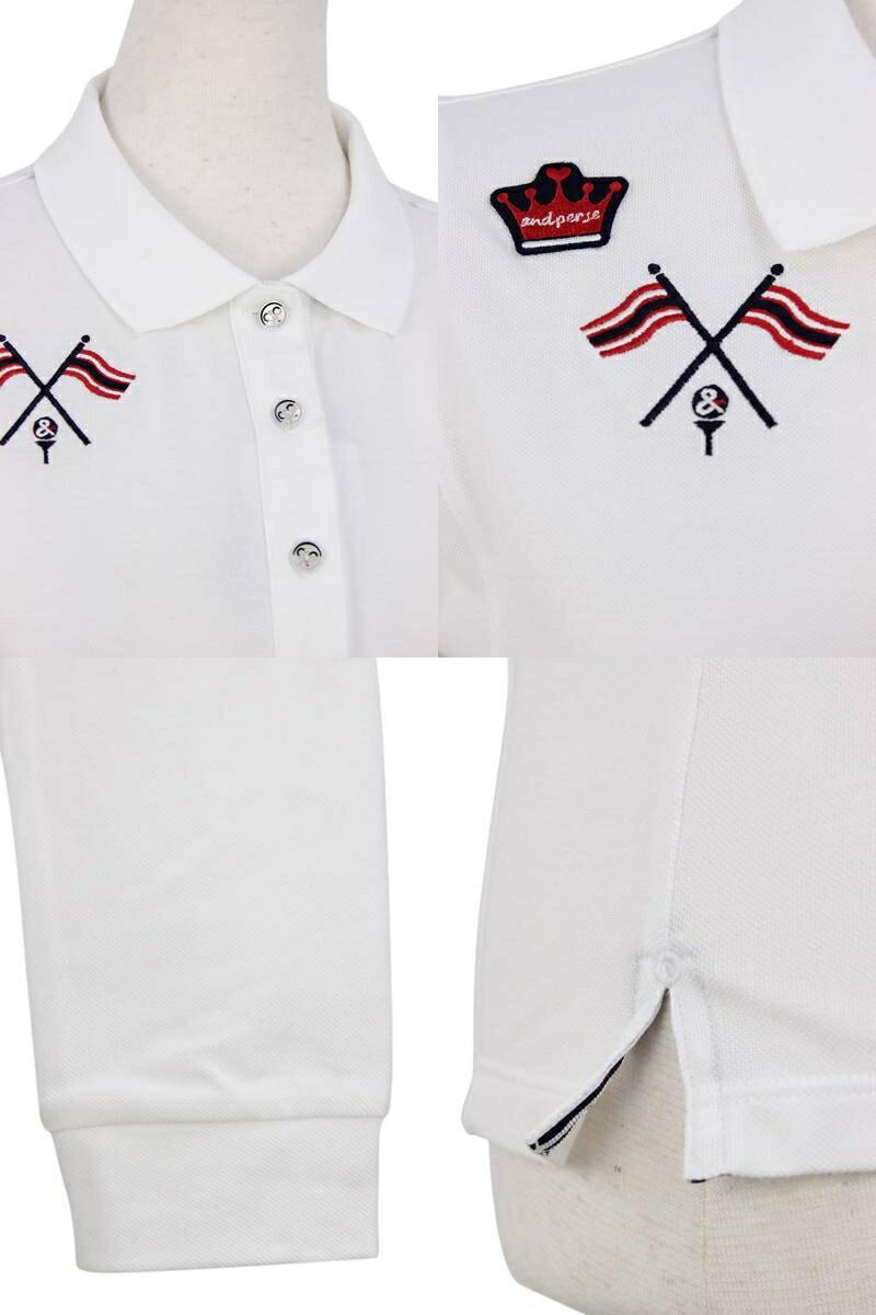 アンパスィの長袖ポロシャツ画像