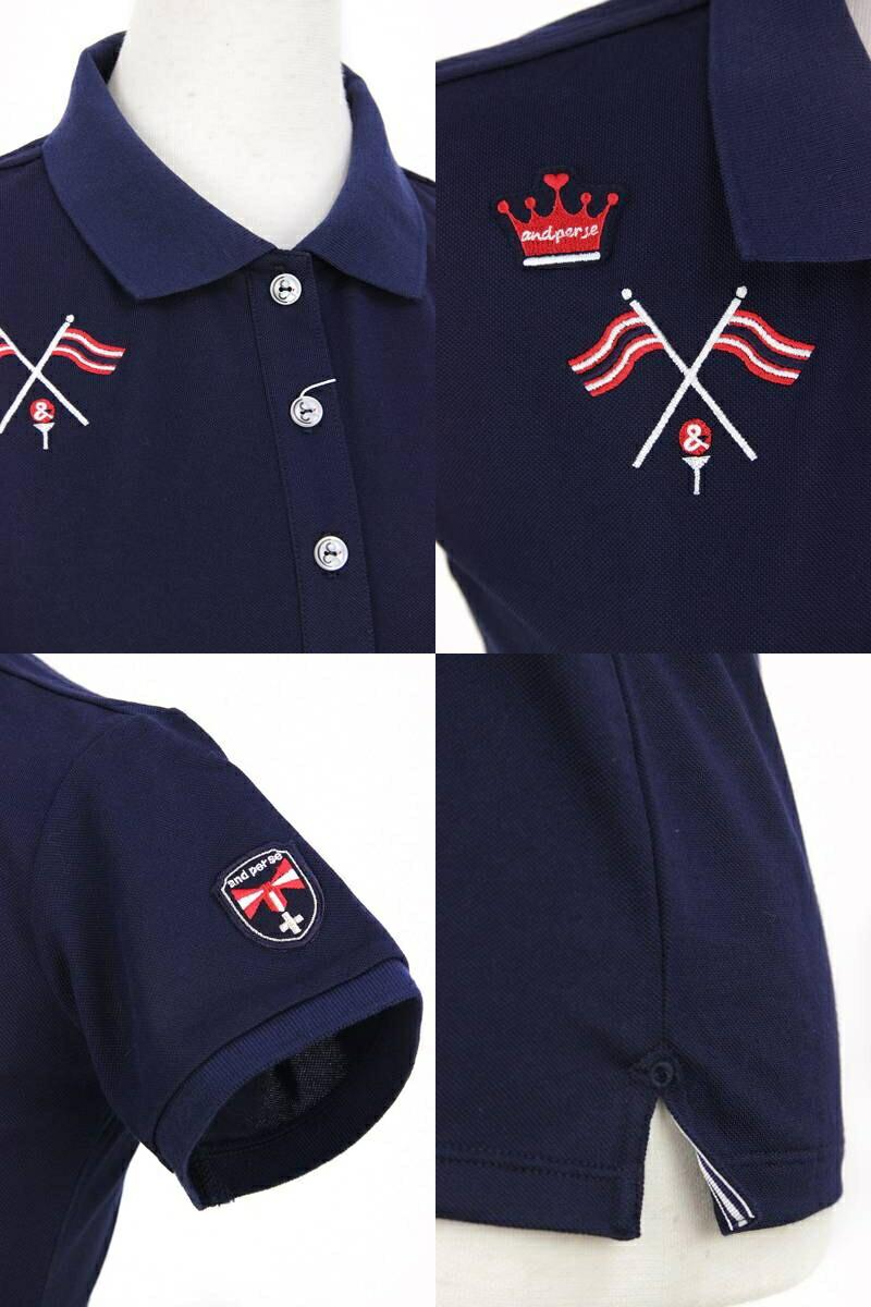アンパスィの半袖ポロシャツ画像
