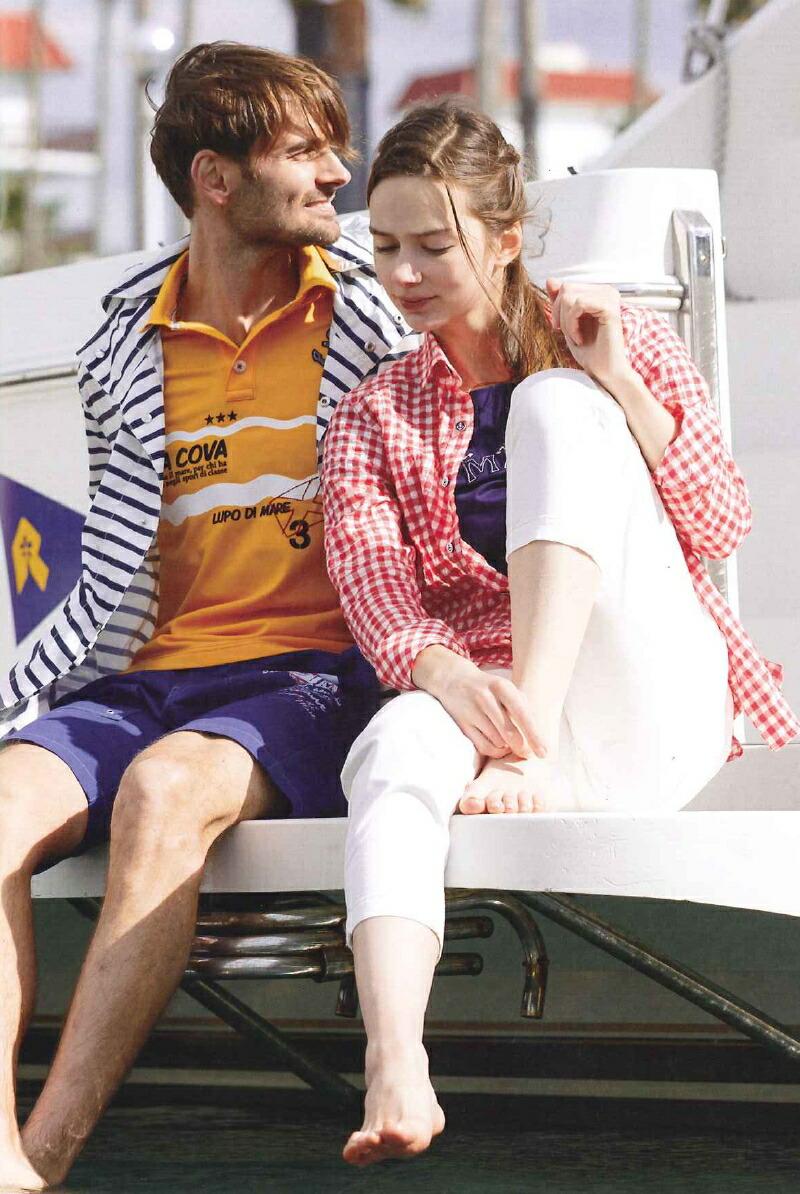 シナコバサルジニアの半袖ポロシャツ画像