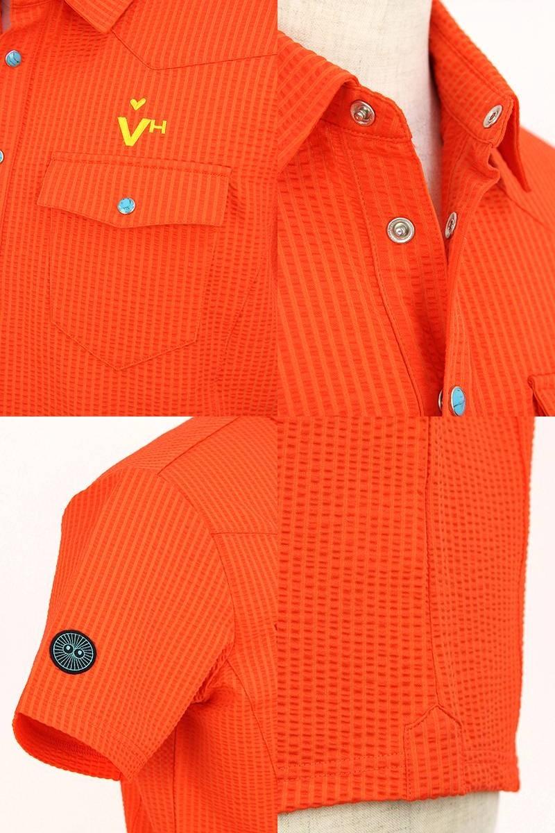 ビバハートの半袖ポロシャツ画像