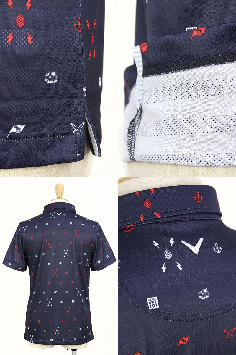 キャロウェイアパレルゴルフのポロシャツ画像